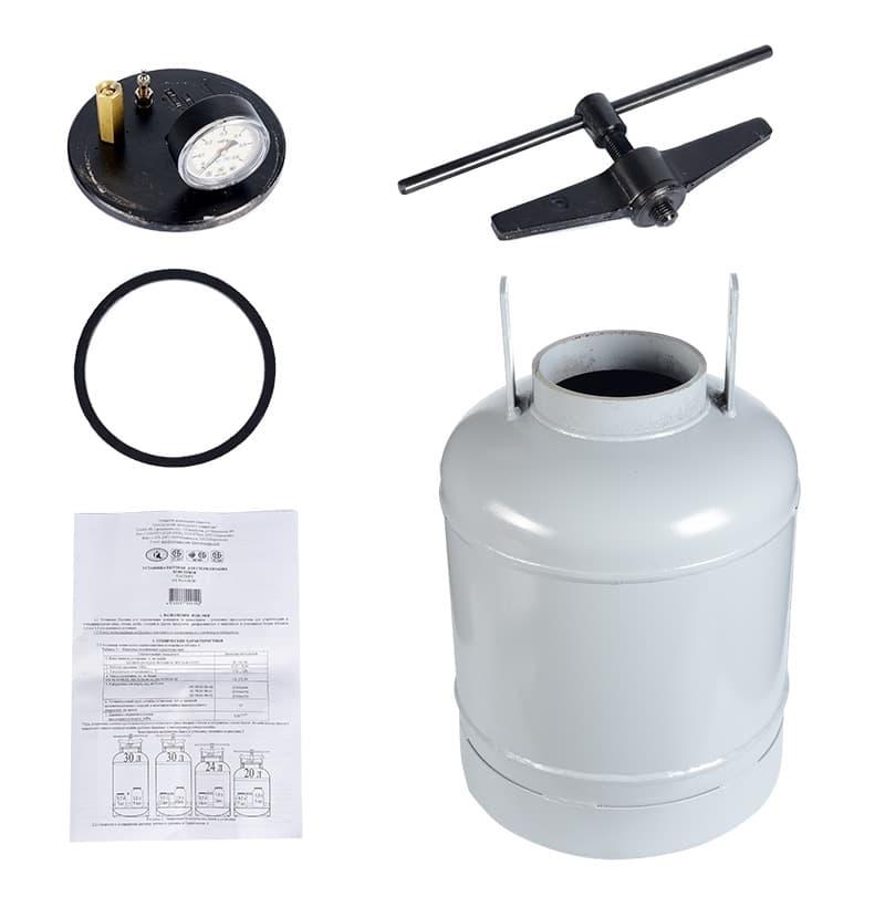 Автоклав для консервирования 30 литров НЗГА - фото 5236
