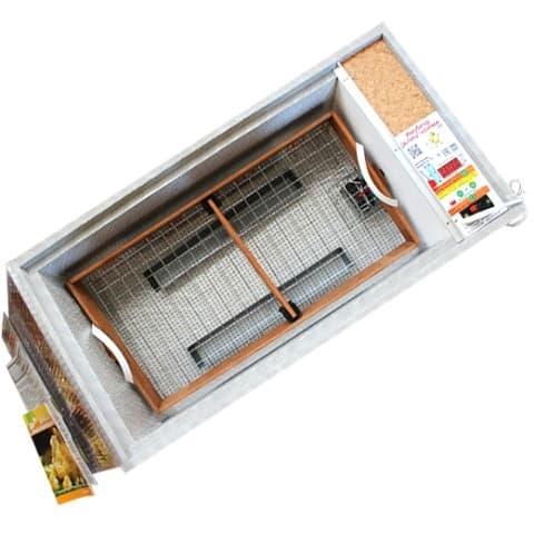 Инкубатор БЛИЦ Норма Цифровой 72 яйца, 220/12В, автомат. поворот, регулировка влажности - фото 5584