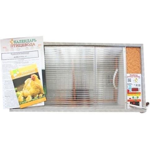 Инкубатор БЛИЦ Норма Цифровой 72 яйца, 220/12В, автомат. поворот, регулировка влажности - фото 5586